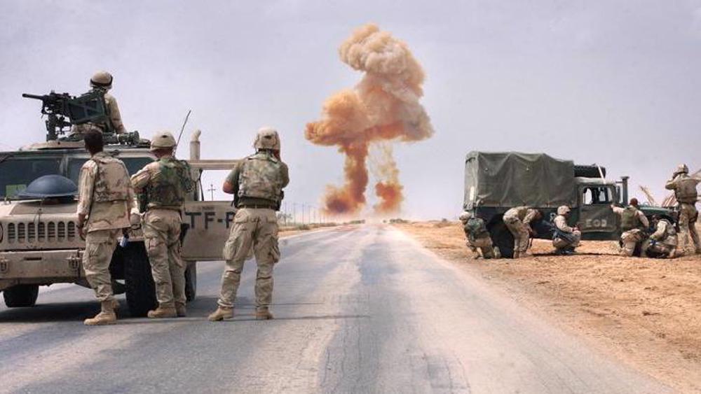 Irak: 5 attaque anti-US en 1 heure