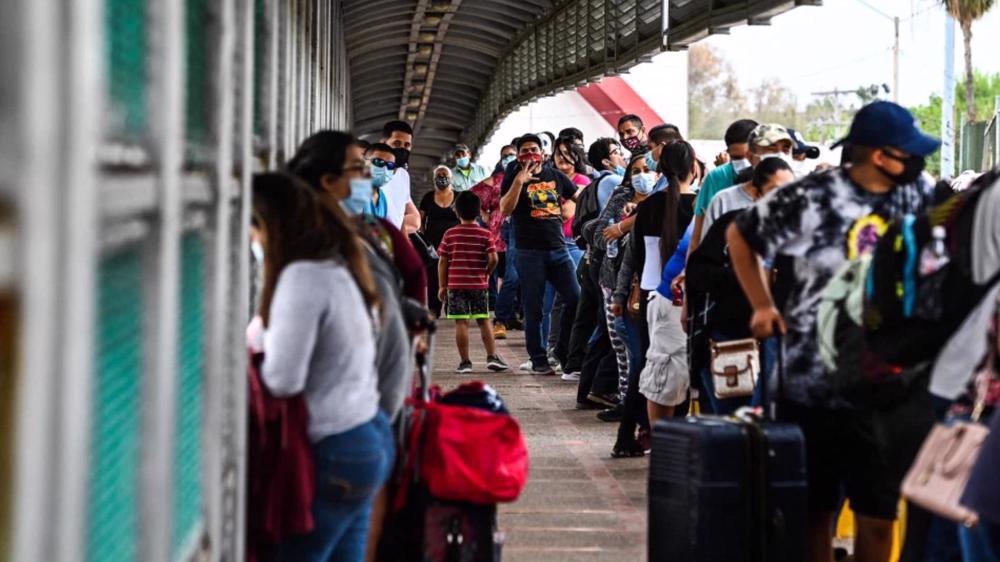 'US destruction of C America cause for border crisis'
