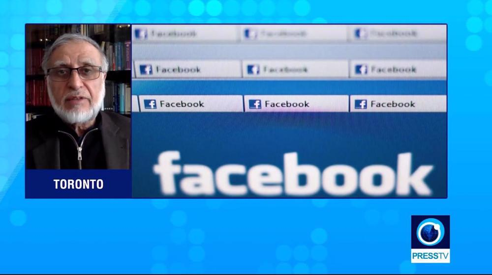 'Facebook censors opinions that run counter to Western narrative'