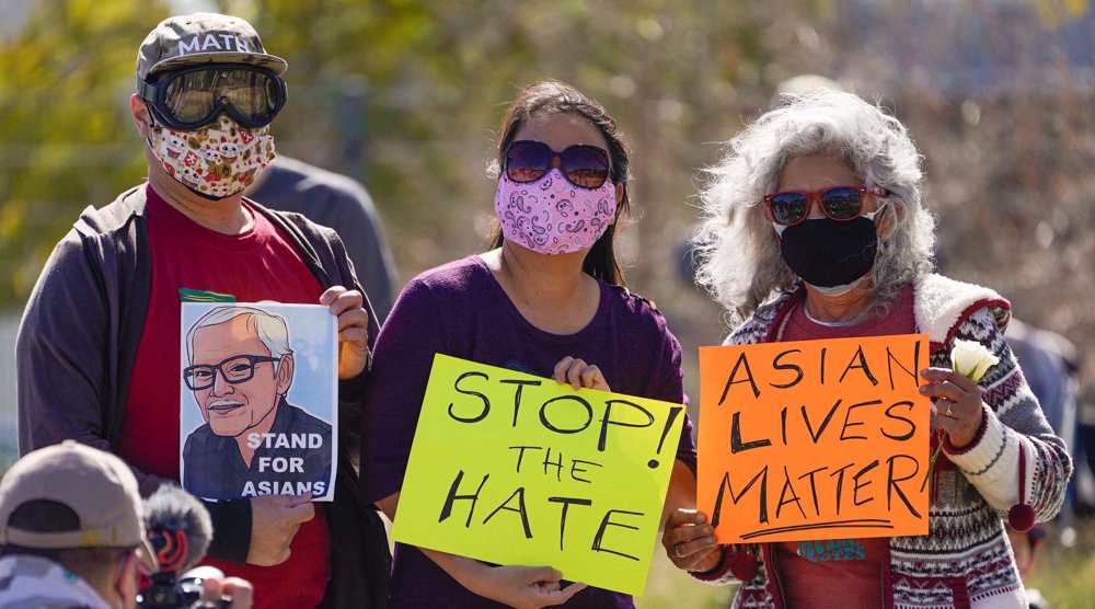 Elderly Asian woman attacked in NYC as hate crimes surge in US