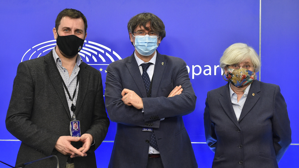 European Parliament strips Catalan separatists of immunity over 'sedition' charges