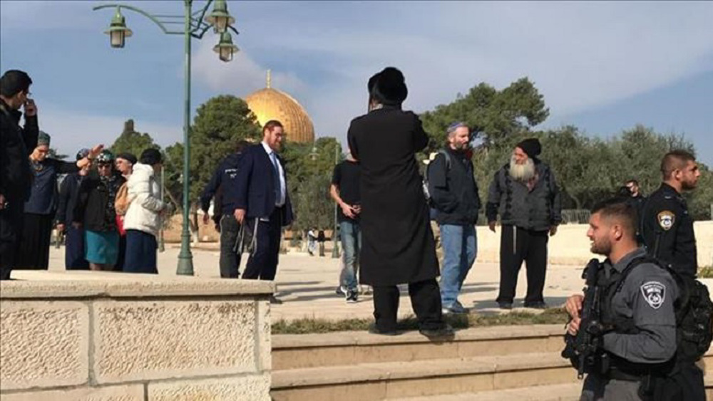Jordan slams Israeli meddling in al-Aqsa Mosque affairs, al-Quds violations