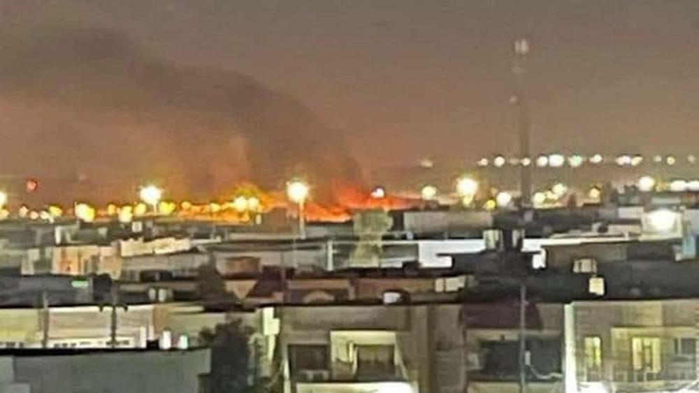 'Attack' targets US airbase in Iraqi Kurdistan: Reports