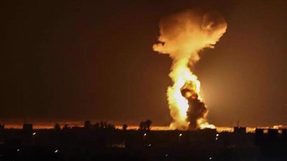 Gaza Strip comes under Israeli aerial, ground bombardment
