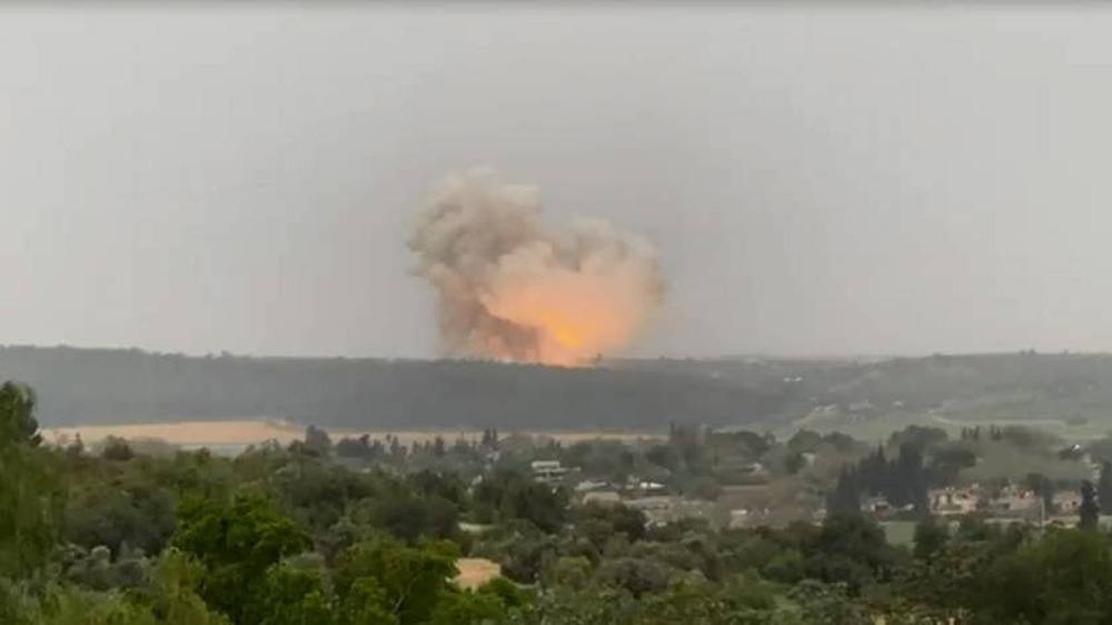 Powerful explosion rocks 'sensitive' Israeli missile factory
