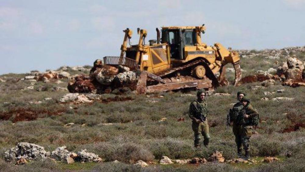 Israel levels West Bank land to build new illegal settlement