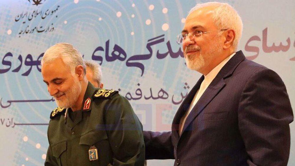 Iran's FM Zarif honors memory of 'long-time friend' General Soleimani