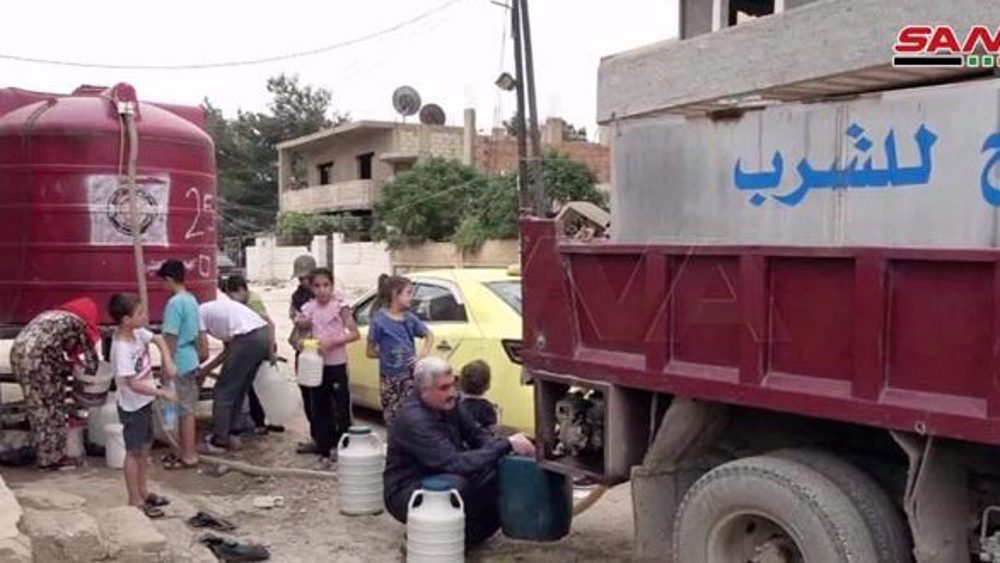 Arab union blasts water supply cut by Turkish forces to Syria's Hasakah
