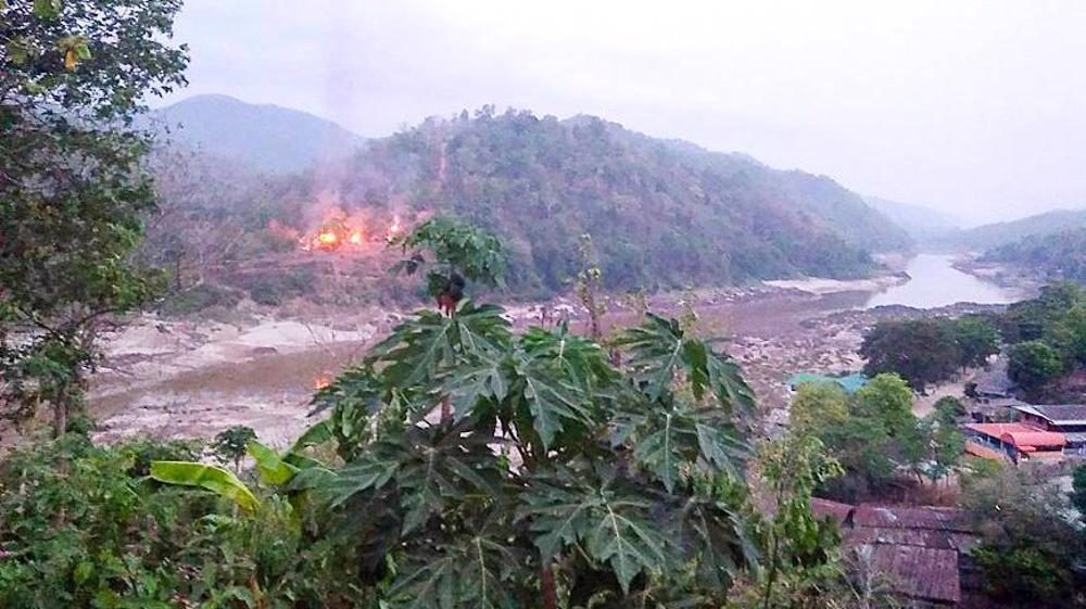 Two air bases in Myanmar attacked, reports say