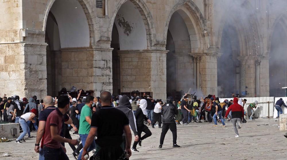 Al-Quds flare-up: Hundreds injured as Israeli forces attack Palestinians
