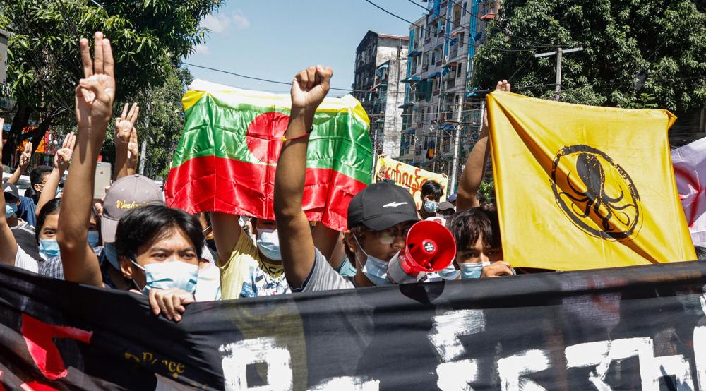 Myanmar's junta arrests dozens over alleged arson, bombings