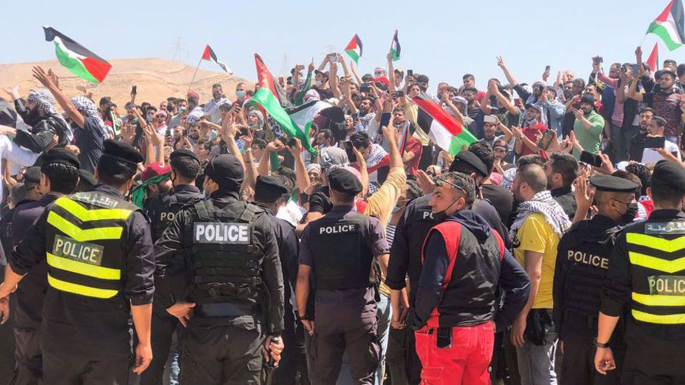 Israeli troops kill Jordanian after attacking anti-occupation rally on Jordan border: Report