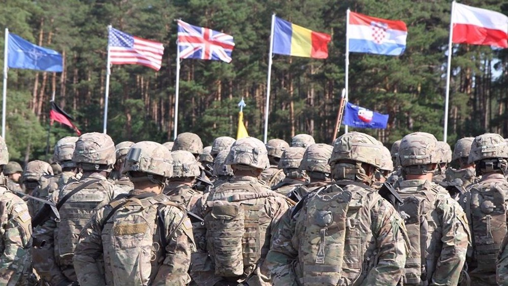 US plans 'large exercise' in central Europe, attacks Russia