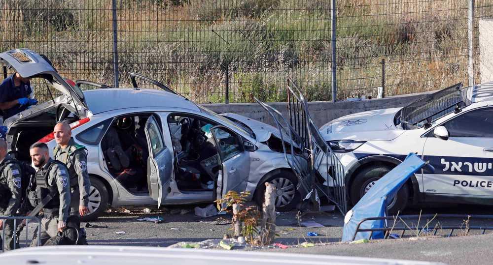 Seven Israeli officers injured in car-ramming attack in Sheikh Jarrah