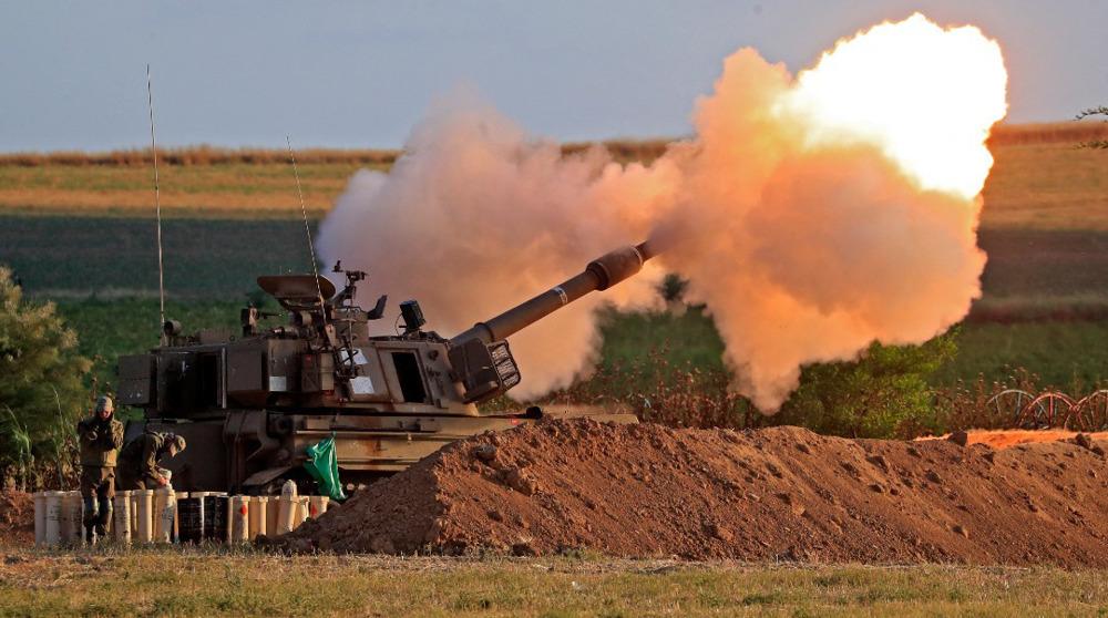 Israeli military fires shells at southern Lebanon