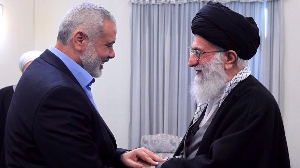Israeli crimes in Gaza, Quds deserved firm response: Haniyeh to Iran's Leader