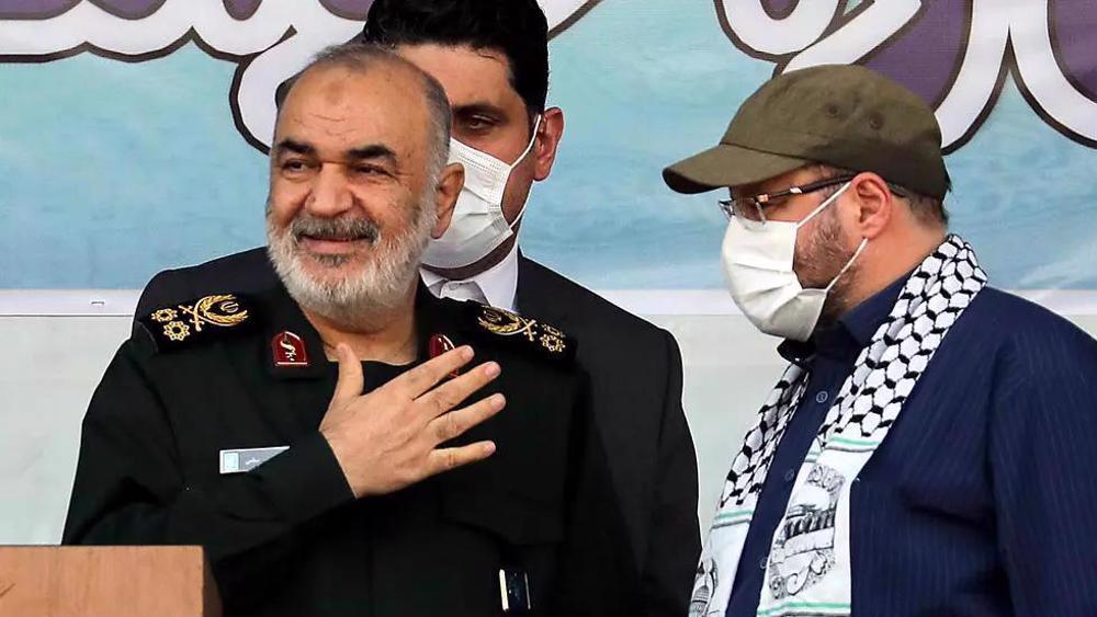 Gen. Salami: Iran ready to aid Palestine in any way