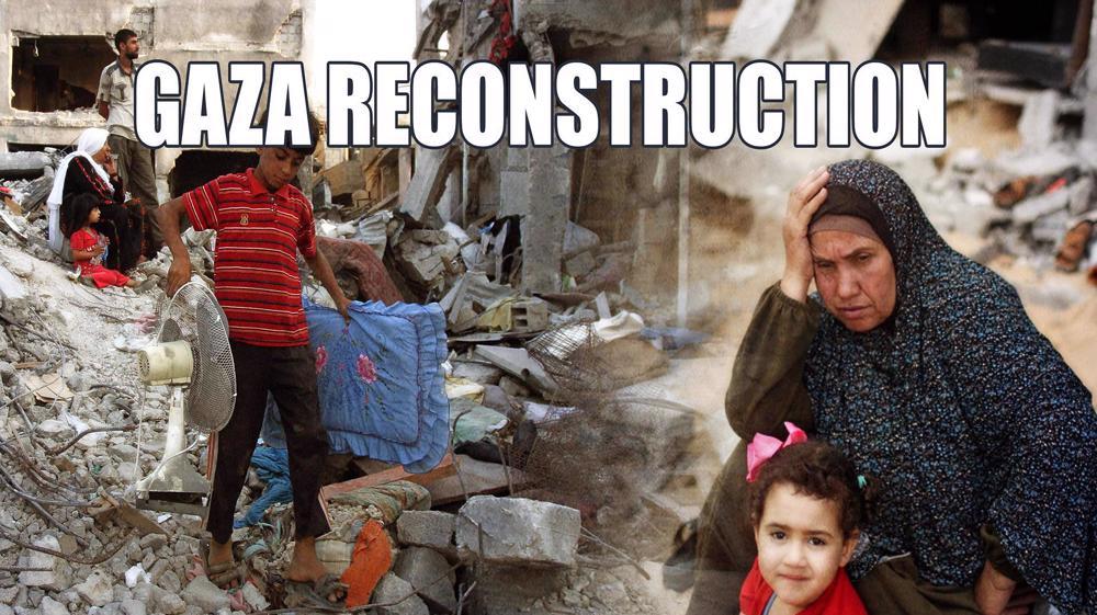 Gaza's reconstruction, and Israeli war cimes