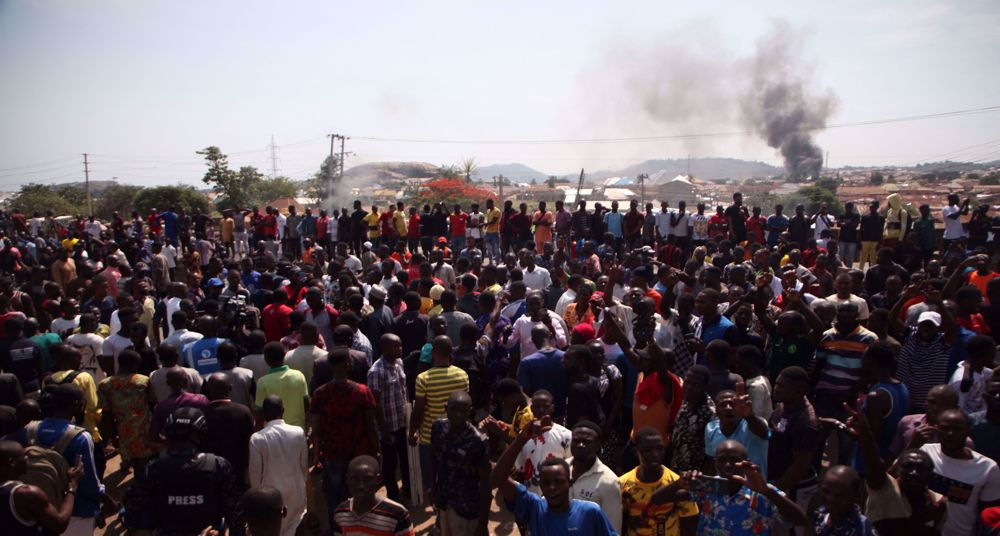 Nigeria protesters block highway after kidnapping surge