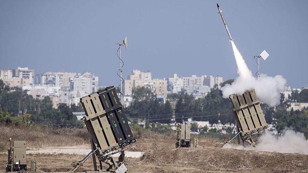 Dôme de fer chasse drone israélien!