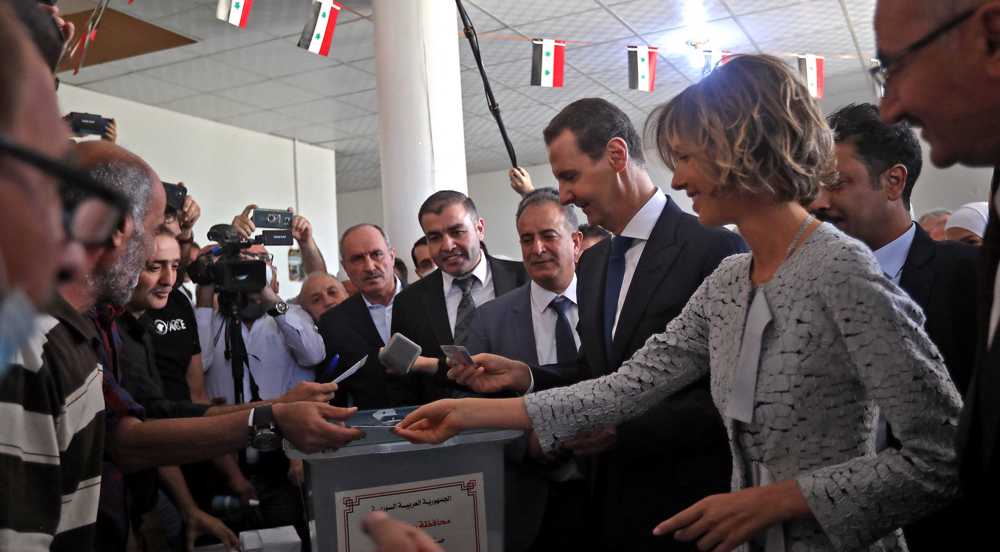 Syrians voting to elect president as anti-terror fight nears end