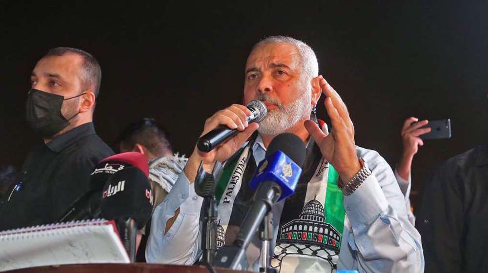 Hamas leader: Operation al-Quds Sword dealt heavy blow to US 'deal of century'