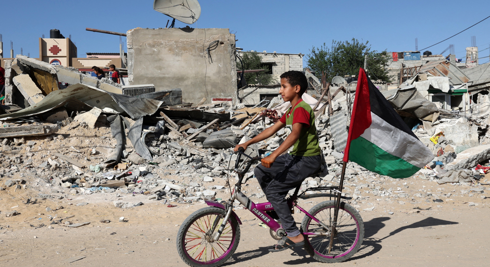 Qatar to contribute $500m to Gaza reconstruction after destructive Israeli raids