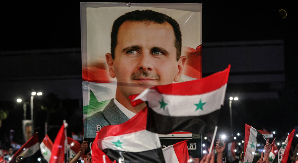 Iran, Russia, China congratulate Syria's Assad on reelection victory