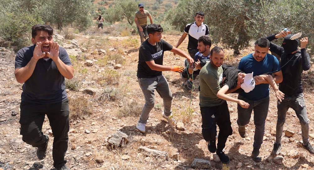 Israeli troops kill Palestinian during anti-settlement protest in WB