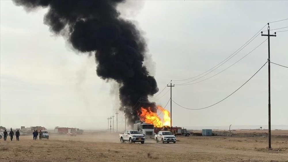 Daesh terrorists attack two oil wells in northern Iraq