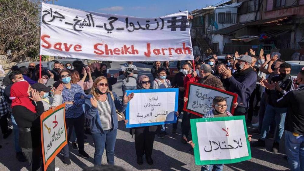 Hamas military wing gives Israel 'final' warning on Sheikh Jarrah evictions