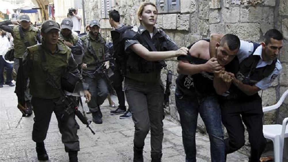 Israeli forces wound 22 Palestinians in overnight raid in Jerusalem al-Quds