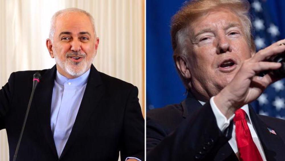 Zarif calls Trump 'disgraced buffoon' for exiting JCPOA