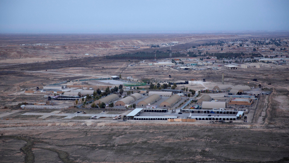 Hangar damaged in drone strike on US airbase in Iraq's Ain al-Asad