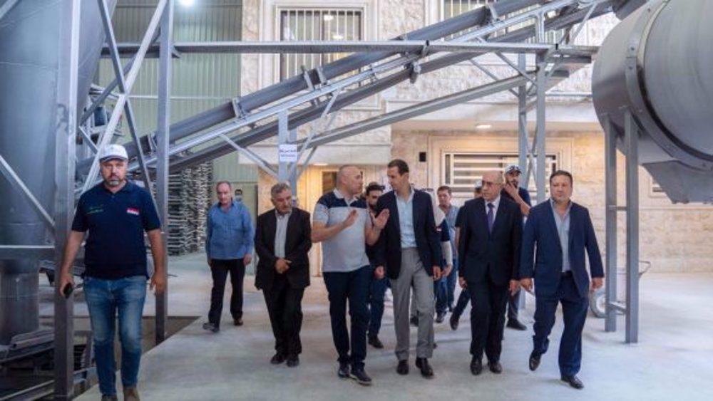 Assad: Syria has genuine potentials to overcome sanctions