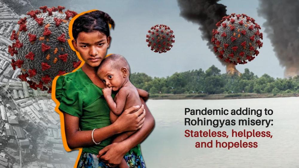 Pandemic adding to Rohingyas misery