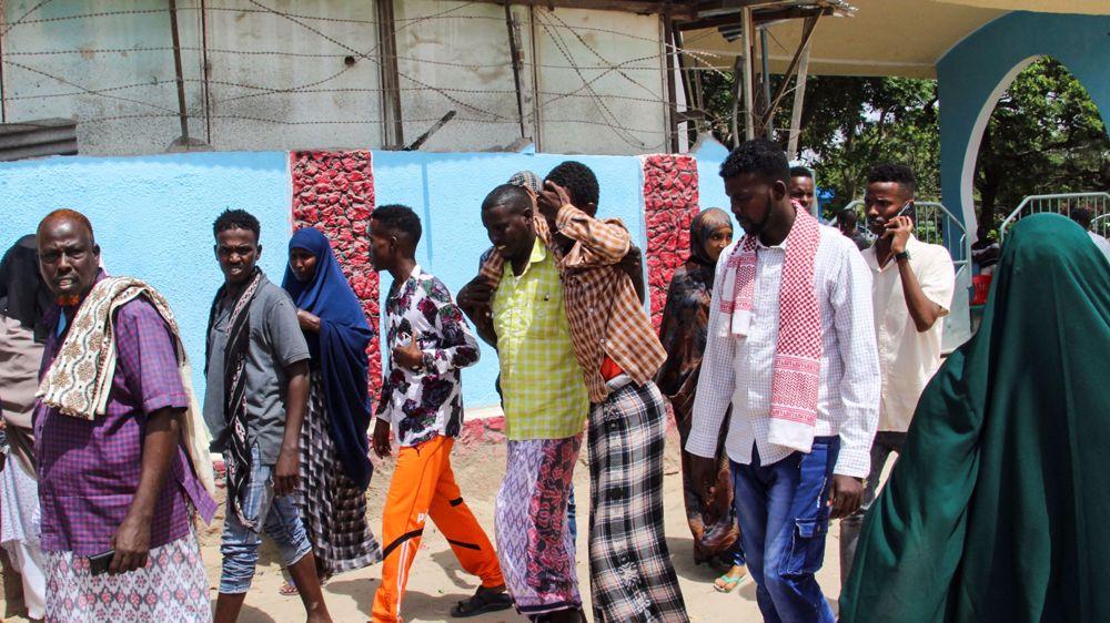 Bomb blast hits Somalia's army camp, kills over dozen