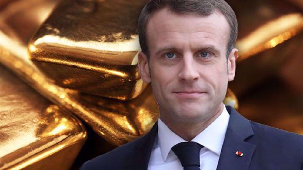 """L'or """"français"""" liquidé """"pour aider l'Afrique""""?!"""