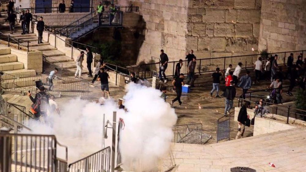 Israeli forces attack Palestinians protesting against far-right settler march