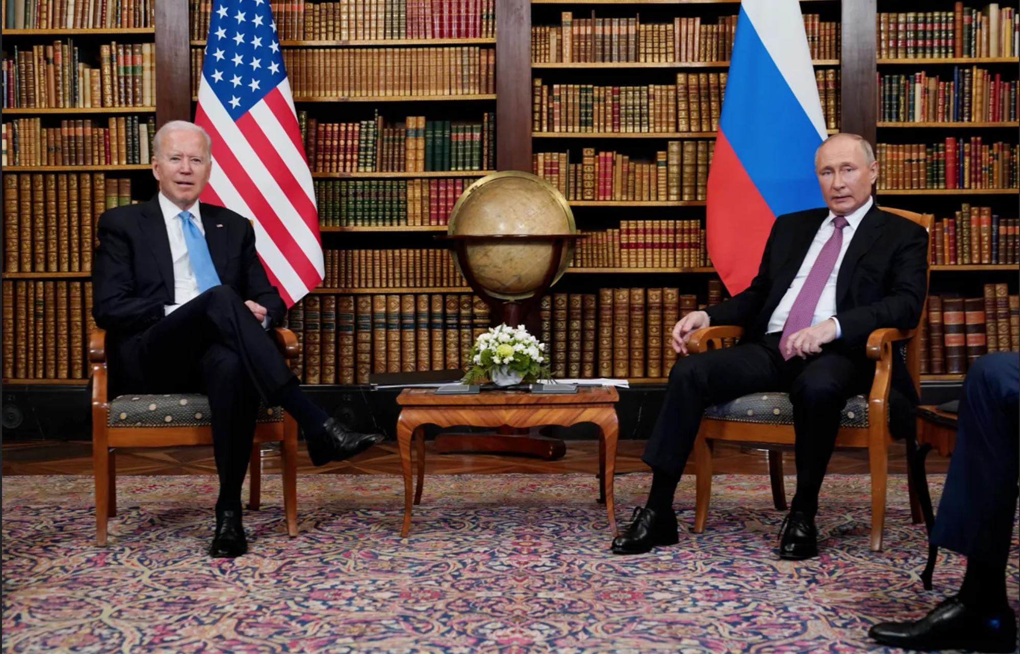 Biden, Putin meet amid US-Russia tensions