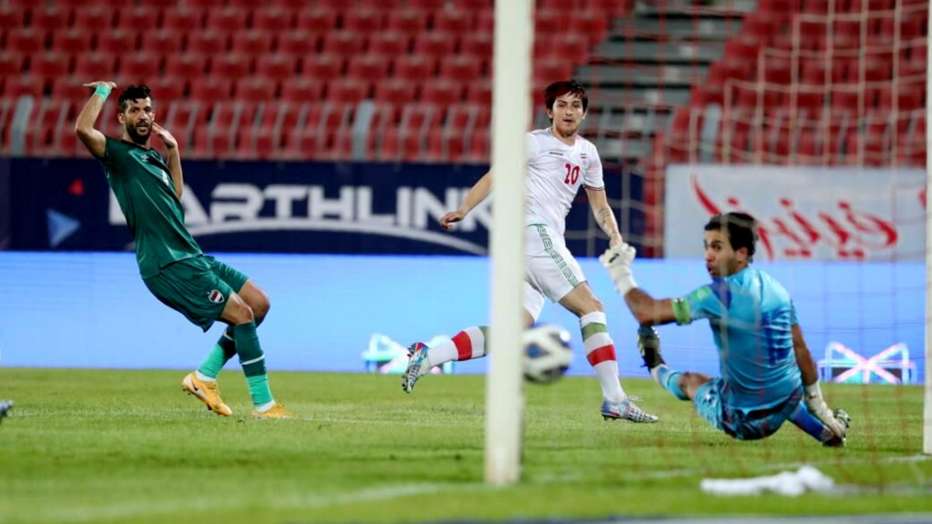 2022 World Cup qualifiers: Iran 1-0 Iraq