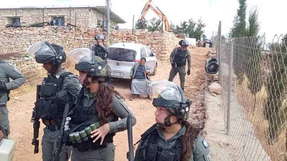 Israeli army demolishes Palestinian house, plans more demolitions in al-Khalil