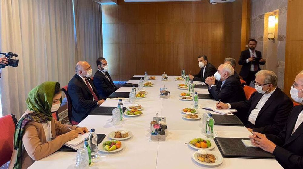 Zarif says Iran ready to help Afghanistan restore stability