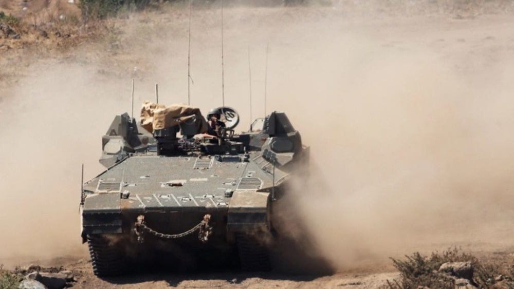 Israel claims destroying Syrian army post in Golan Heights