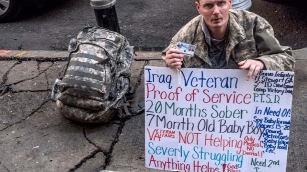 US Veterans are suffering food insecurity on top of PTSD
