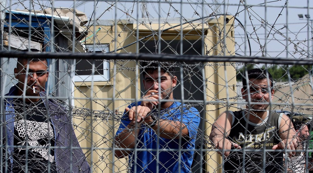 Palestinians protest in solidarity with hunger-striking prisoners in Israeli jails
