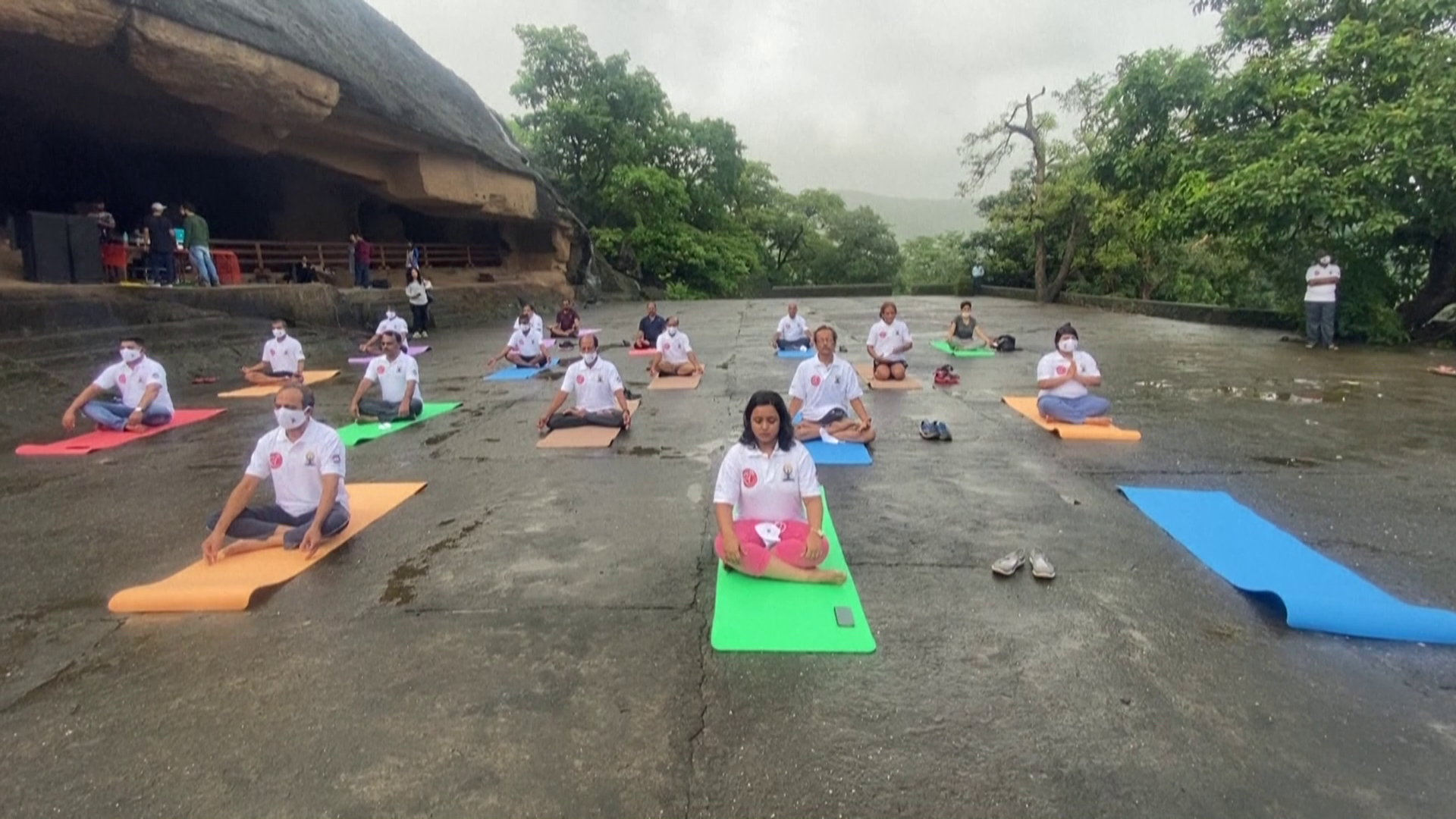 Indians take part in muted Yoga Day celebrations amid pandemic