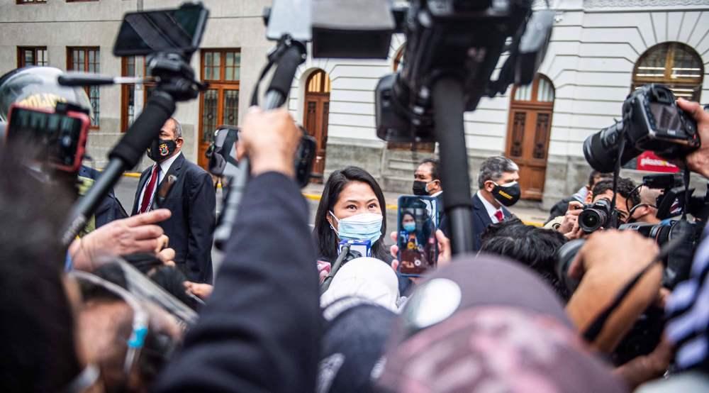 Peru judge rejects request to return presidential hopeful Fujimori to detention