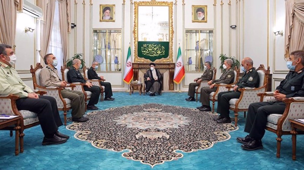 Iran's military top brass express readiness to cooperate with president-elect