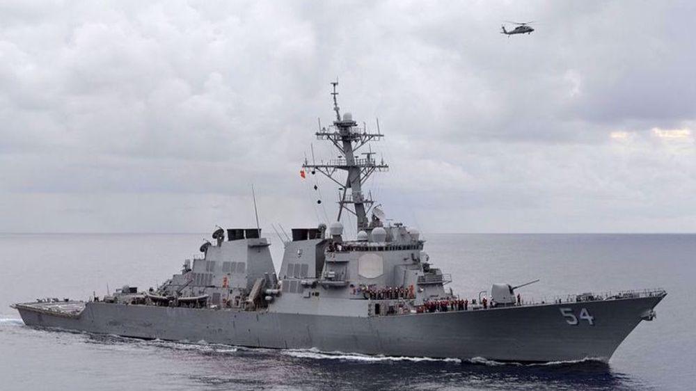 US playing 'same old tricks' by sending warships to Taiwan Strait: China